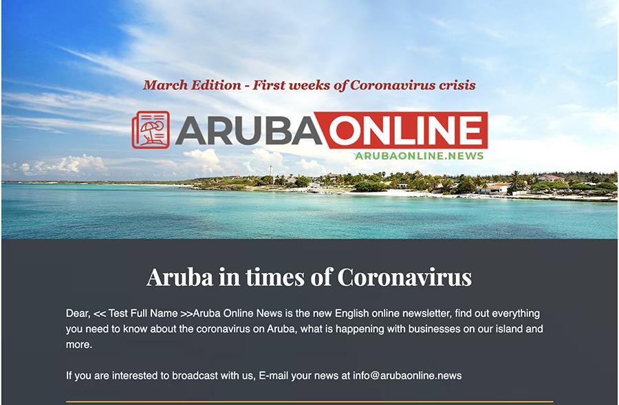 Coronavirus crisis Aruba