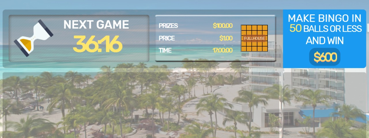 Caribbean Bingo at Marriott Stellaris Casino